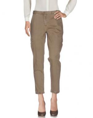 Повседневные брюки QCQC. Цвет: бежевый