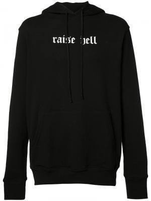 Толстовка Raise Hell 424 Fairfax. Цвет: чёрный