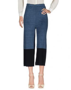 Повседневные брюки CIRCUS HOTEL. Цвет: темно-синий