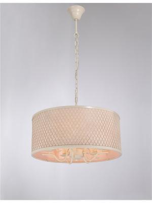 Люстра Bari 371.5 ivory Lucia Tucci. Цвет: бледно-розовый, молочный