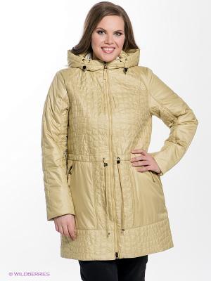 Куртка Sinta Via. Цвет: горчичный