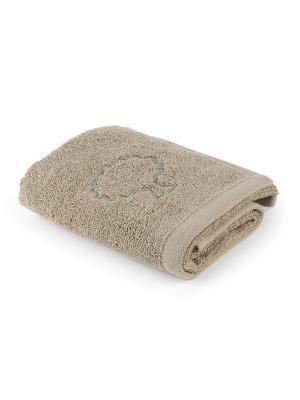 Полотенце для ванной 30х50 см Naturel Moroshka. Цвет: бежевый