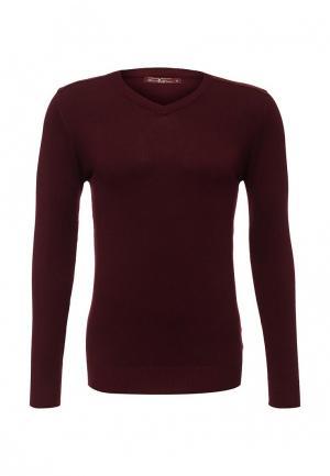 Пуловер Bruno Leoni. Цвет: бордовый