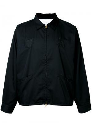 Куртка на молнии monkey time. Цвет: чёрный