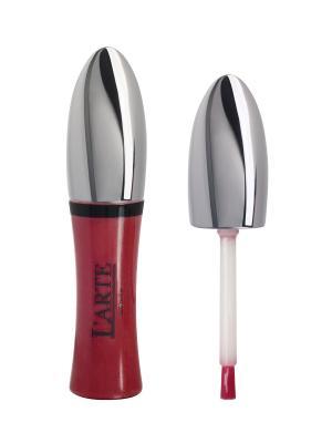 Увлажняющий блеск для губ COMFORT BRILLANTE, тон 25 L'arte del bello. Цвет: красный