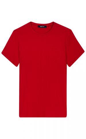 Красная футболка Jorg weber
