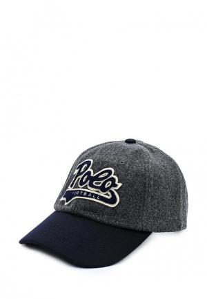 Бейсболка Polo Ralph Lauren. Цвет: серый