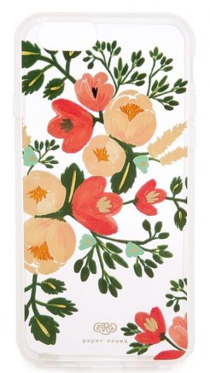 Чехол Paper Crown для iPhone 6/6s с цветками персика Rifle Co