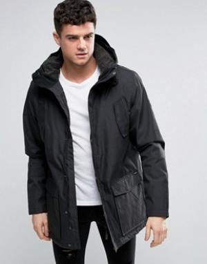 RVCA Водоотталкивающая куртка Ground. Цвет: черный