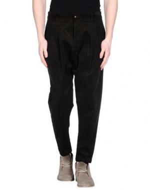 Повседневные брюки MNML COUTURE. Цвет: темно-зеленый
