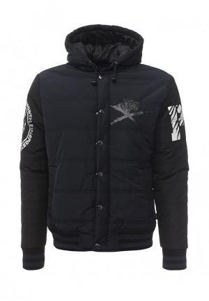 Куртка утепленная Plein Sport. Цвет: синий