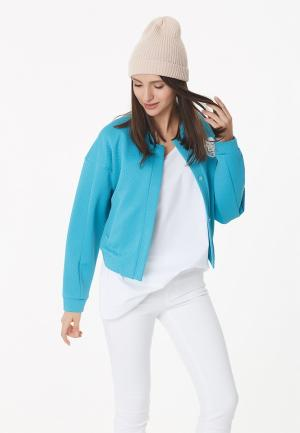 Куртка Fly. Цвет: голубой