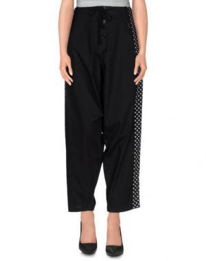 Повседневные брюки GIPSY. Цвет: черный