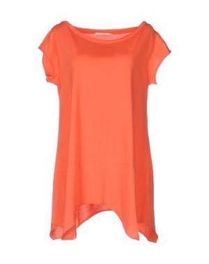 Футболка NIOI. Цвет: оранжевый