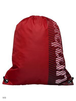 Рюкзак Umbro. Цвет: красный, белый, черный