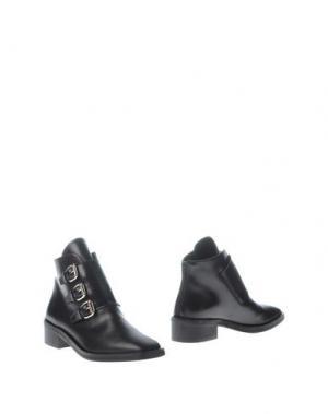 Полусапоги и высокие ботинки REBECA SANVER. Цвет: черный