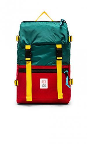 Рюкзак rover TOPO DESIGNS. Цвет: сине-зеленый