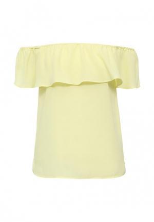 Блуза Modis. Цвет: желтый