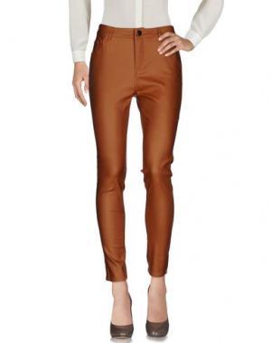 Повседневные брюки MOLLY BRACKEN. Цвет: верблюжий