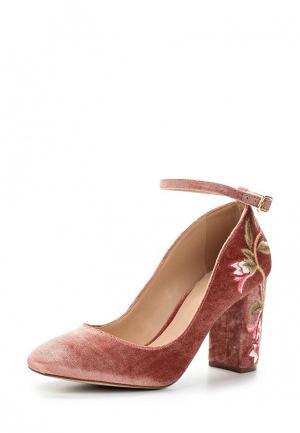 Туфли Arezzo. Цвет: розовый