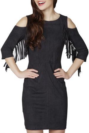 Платье Ambigante. Цвет: black
