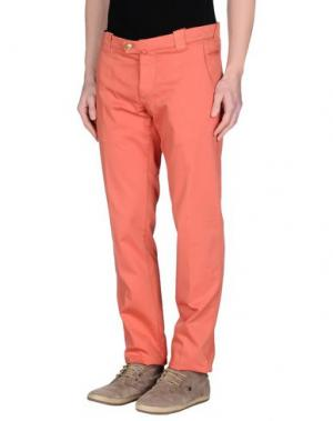 Повседневные брюки MASTAI FERRETTI. Цвет: коралловый