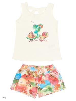 Комплект одежды Mayoral. Цвет: бежевый