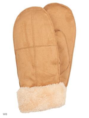 Варежки Punta. Цвет: коричневый