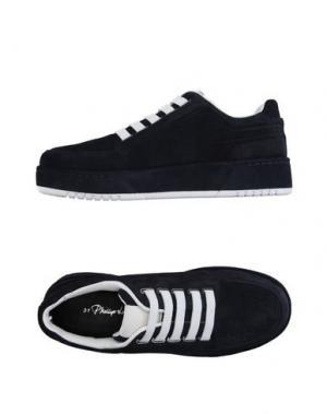 Низкие кеды и кроссовки 3.1 PHILLIP LIM. Цвет: темно-синий