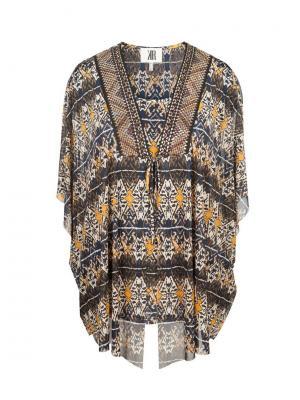 Блуза KR. Цвет: бежевый