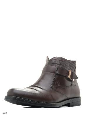 Ботинки BROADWAY.. Цвет: коричневый