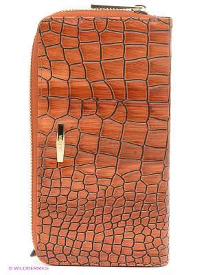 Кошелек Labbra. Цвет: коричневый