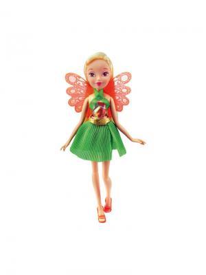 Кукла Winx Club Волшебный питомец, Stella. Цвет: светло-зеленый, светло-коралловый, светло-желтый
