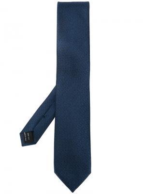 Plain tie Tom Ford. Цвет: синий