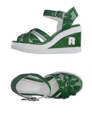 Сандалии RUCO LINE. Цвет: зеленый