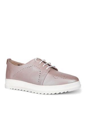 Туфли EMILIA ESTRA. Цвет: розовый
