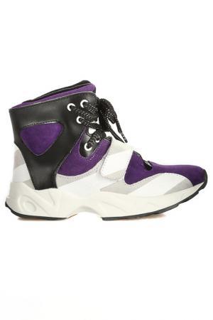 Ботинки кроссовые Vitacci. Цвет: фиолетовый