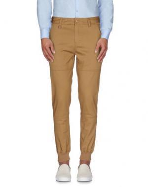 Повседневные брюки PUBLISH. Цвет: песочный