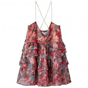 Блузка из полиэстера KAPORAL 5. Цвет: наб. рисунок/ розовый