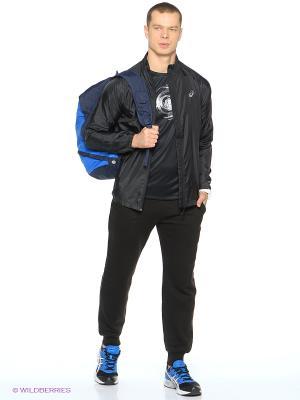 Куртка Woven Jacket ASICS. Цвет: черный