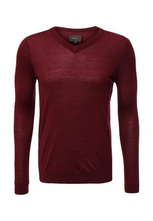 Пуловер Riggi. Цвет: бордовый