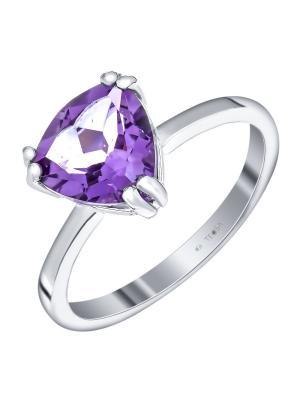 Кольцо Teosa. Цвет: фиолетовый