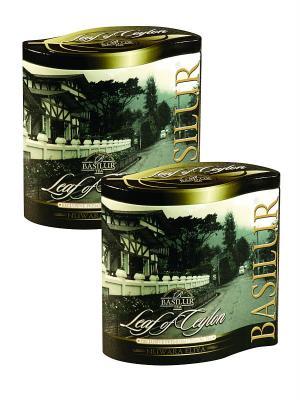 Чайный набор ЛИСТ ЦЕЙЛОНА Нувара/Nuwara Eliya FBOP/PEKOE Basilur. Цвет: черный