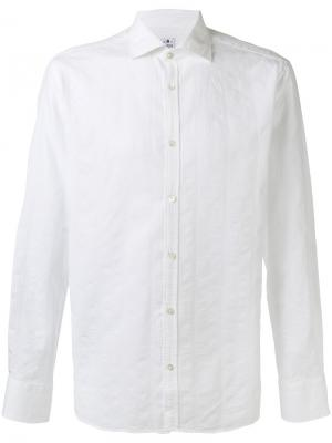 Spread collar shirt Danolis. Цвет: белый