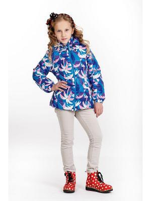Куртка для девочки NIKASTYLE. Цвет: морская волна