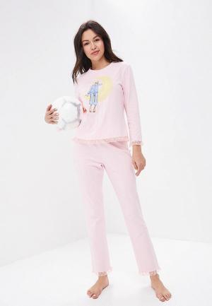 Пижама Fashion.Love.Story. Цвет: розовый