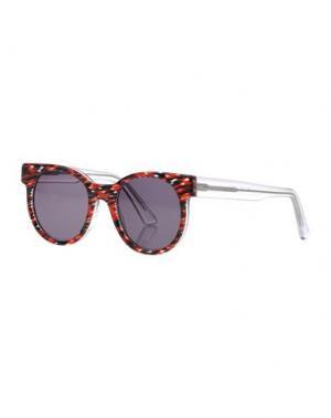 Солнечные очки ZANZAN. Цвет: красный
