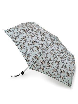 Зонт женский механика Fulton. Цвет: голубой