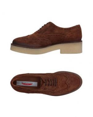 Обувь на шнурках SPAZIOMODA. Цвет: какао