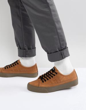 HUF Светло-коричневые кроссовки Hupper 2 Lo. Цвет: рыжий
